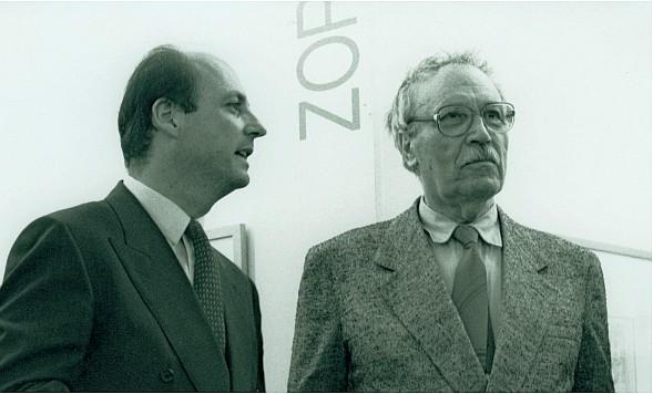 Siegbert Metelko und Zoran Music