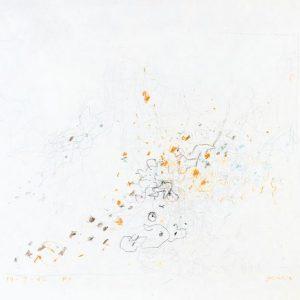 1962: Cortina | Buntstifte auf Papier (31,8 x 40 cm)