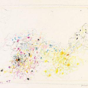 1962: Cortina | Buntstifte auf Papier (24,6 x 34,5 cm)