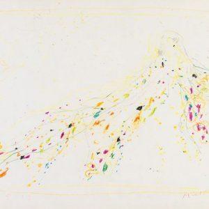 1963: Cortina | Buntstifte auf Papier (24,1 x 31,8 cm)