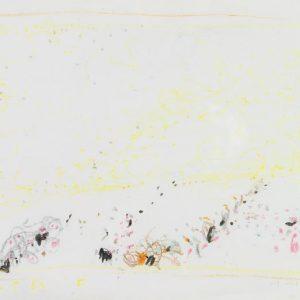 1963: Cortina | Buntstifte auf Papier (24 x 31,3 cm)