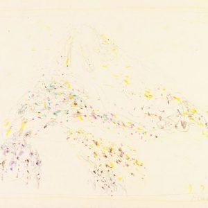 1963: Cortina | Buntstifte auf Papier (24,6 x 33,9 cm)