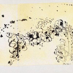 1963: Cortina | Tusche auf Papier (13,5 x 21 cm)