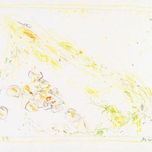 1964: Cortina | Buntstifte auf Papier (22,5 x 34,6 cm)
