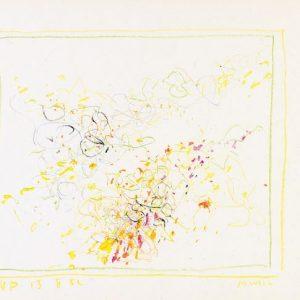 1962: Cortina | Buntstifte auf Papier (24,6 x 34,6 cm)