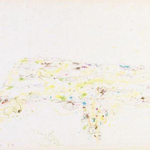 1964: Cortina | Buntstifte auf Papier (25 x 34,2 cm)