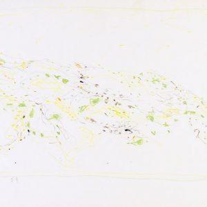 1964: Cortina | Buntstifte auf Papier (25 x 35 cm)