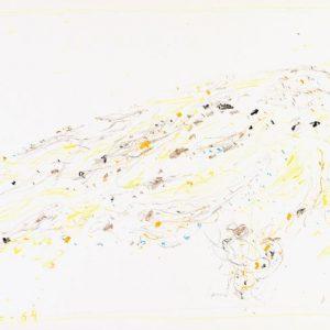 1964: Cortina | Buntstifte auf Papier (24,9 x 35 cm)