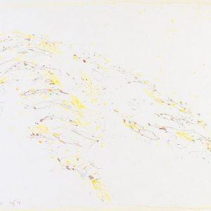 1964: Cortina | Buntstifte auf Papier (24,9 x 34,2 cm)