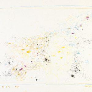 1962: Cortina | Buntstifte auf Papier (24,7 x 34,7 cm)