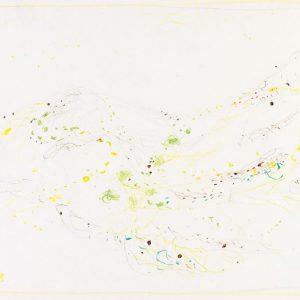 1965: Cortina | Buntstifte auf Papier (24,9 x 34,4 cm)