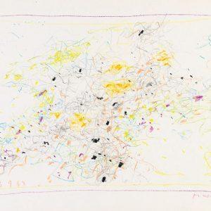 1967: Cortina | Buntstifte auf Papier (24,6 x 34,7 cm)
