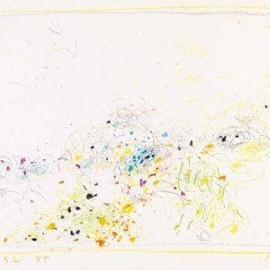 1962: Cortina | Buntstifte auf Papier (24,6 x 34,7 cm)
