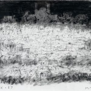1989: Paris | Ölpastell auf Papier (20,7 x 27,1 cm)