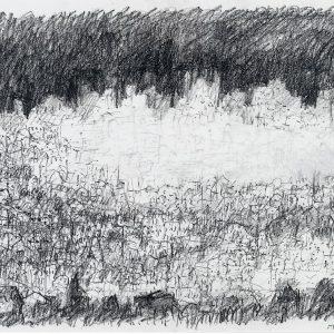 1994: Paris | Fettbleistift auf Papier (36 x 47,8 cm)
