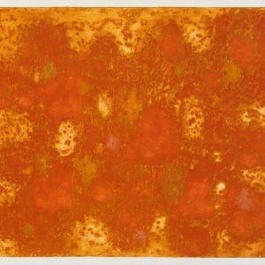 1961: Suite byzantine| Farbige Radierung (Aquatinta) auf Arches Papier (45,5 x 61,5 cm)