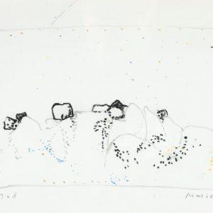 1968: Italienische Landschaften | Ölpastell auf Papier (26,1 x 34,4 cm)