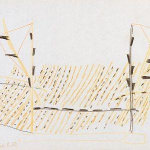1954: Reti | Buntstifte auf Papier (21 x 27,5 cm)