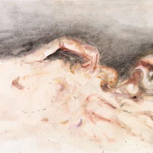 1970: Wir sind nicht die Letzten | Aquarell auf Papier (52,8 x 77,7 cm)