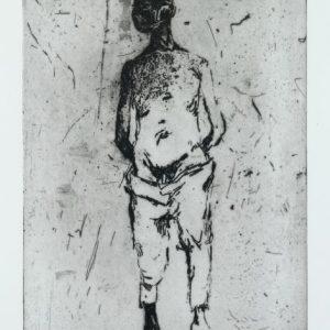 1970: Wir sind nicht die Letzten | Radierung auf Papier BFK Rives (75,5 x 56,4 cm)