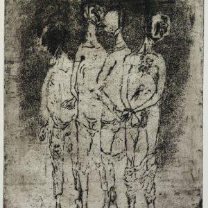 1970: Wir sind nicht die Letzten | Radierung auf Arches Papier (76 x 56,5 cm)