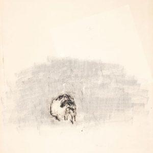 1971: Wir sind nicht die Letzten | Ölpastell auf Papier (65 x 49, 4 cm)