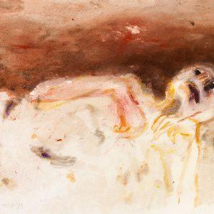 1971: Wir sind nicht die Letzten | Aquarell auf Papier (55,8 x 76,1 cm)