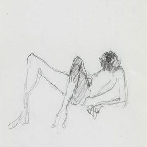 1971: Wir sind nicht die Letzten | Bleistift auf Papier (21,1 x 13,4 cm)