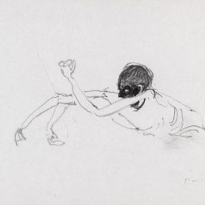 1970: Wir sind nicht die Letzten | Bleistift auf Papier (21 x 26,8 cm)