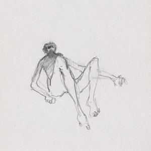 1971: Wir sind nicht die Letzten | Bleistift auf Papier (17,2 x 13,4 cm)
