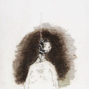 1971: Wir sind nicht die Letzten | Ölpastell auf Papier (76 x 56,4 cm)