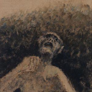 1971: Wir sind nicht die Letzten | Acryl auf Leinwand (56 x 49 cm)