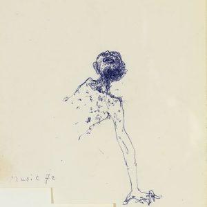 1972: Wir sind nicht die Letzten | Kugelschreiber auf Papier (18 x 14,7 cm)