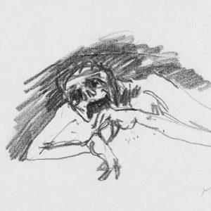 1970: Wir sind nicht die Letzten | Bleistift auf Papier (13,5 x 21,2 cm)
