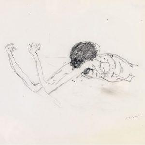 1970: Wir sind nicht die Letzten | Bleistift auf Papier (21,1 x 26,9 cm)