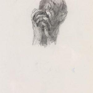 1973: Wir sind nicht die Letzten | Bleistift auf Papier (31,2 x 20,6 cm)
