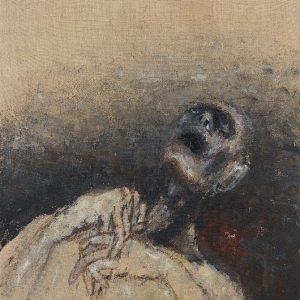 1974: Wir sind nicht die Letzten | Acryl auf Leinwand (60 x 49,5 cm)