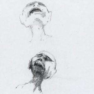 1975: Wir sind nicht die Letzten | Bleistift auf Papier (26 x 20,9 cm)