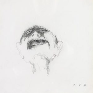 1975: Wir sind nicht die Letzten | Bleistift auf Papier (27 x 26,5 cm)