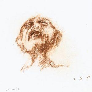1975: Wir sind nicht die Letzten | Ölpastell auf Papier (27 x 26,3 cm)