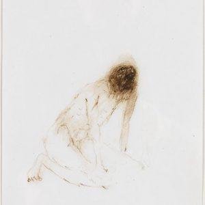1975: Wir sind nicht die Letzten | Ölpastell auf Papier (29,7 x 21 cm)