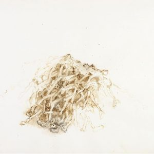 1987: Wir sind nicht die Letzten | Aquarell auf Papier (56,5 x 76,5 cm)