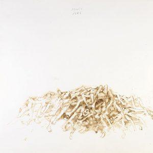 1988: Wir sind nicht die Letzten | Aquarell auf Papier (56,1 x 76,3 cm)