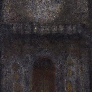1984: Interieur einer Kathedrale | Öl auf Leinwand (115 x 81 cm)
