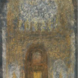 1984: Interieur einer Kathedrale | Öl auf Leinwand (81 x 60 cm)