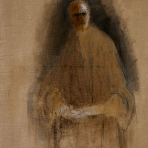 1989: Selbstporträt | Öl auf Leinwand (145 x 96 cm)
