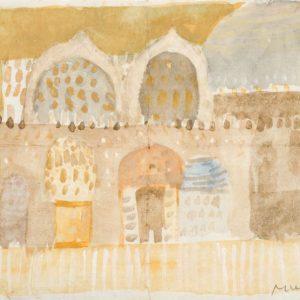 1948: San Marco | Aquarell auf Papier (13,5 x 19 cm)