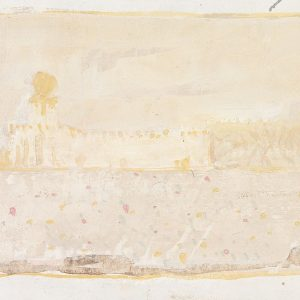 1980: Canale della Giudecca | Aquarell auf Papier (30,5 x 25,5 cm)