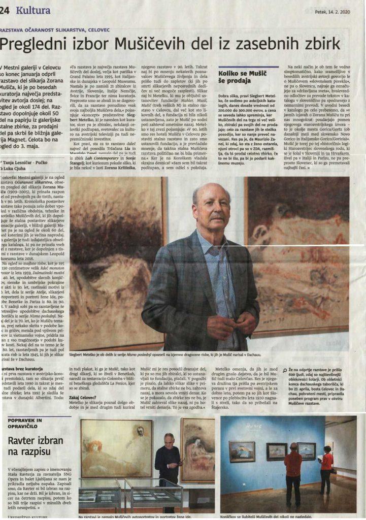 Siegbert Metelko in the Dnevnik