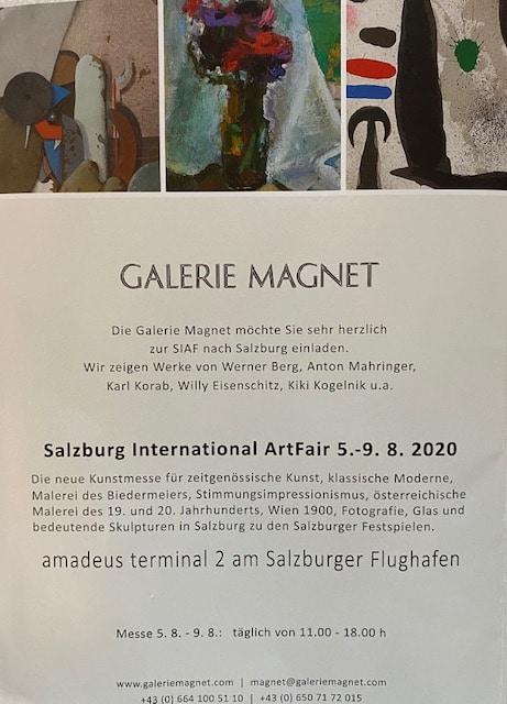 Einladung zur ArtFair in Salzburg 2020